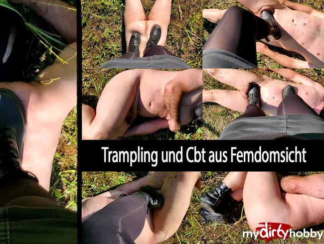Video Thumbnail Trampling und CBT aus Femdomsicht