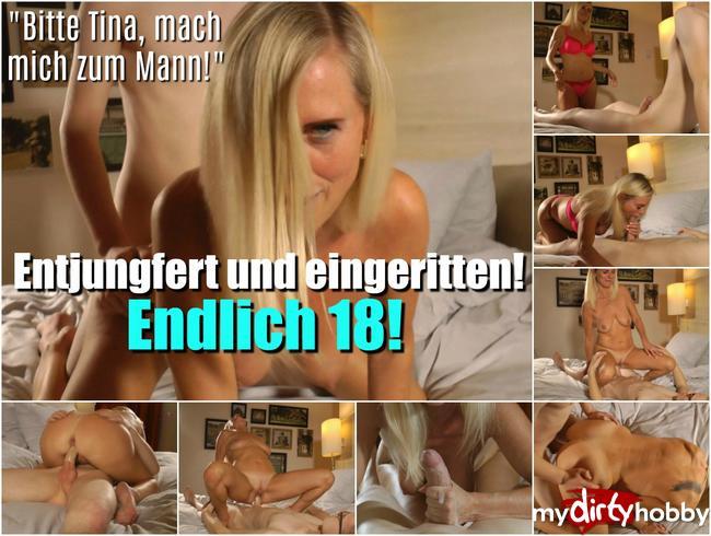Dirty-Tina - Entjungfert und eingeritten! Endlich 18!