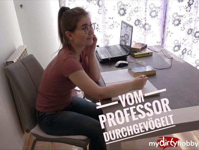 Video Thumbnail Geile Studentin vom Professor verführt und durchgevögelt!