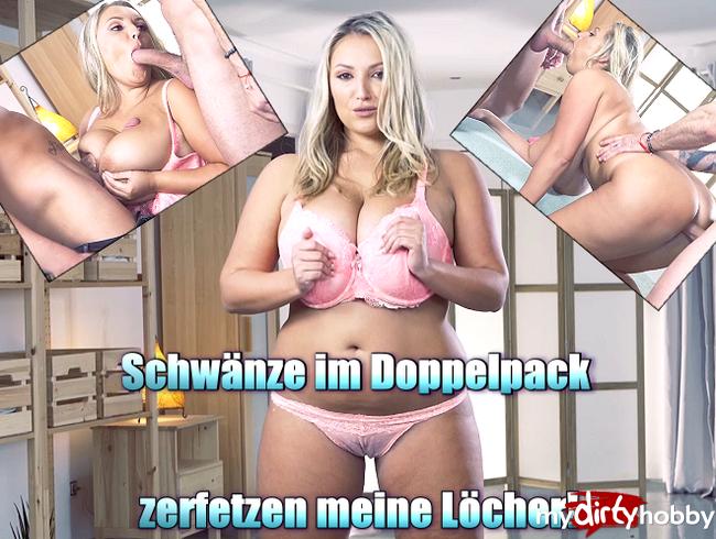 Video Thumbnail Schwänze im Doppelpack zerfetzen meine Löcher!
