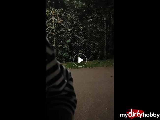 Video Thumbnail Heftiger outdoor toy orgasmus und der saft läuft