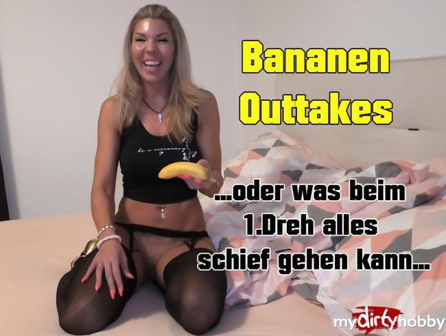 Highheel-Tamia - Bananen Outtakes- oder was beim 1 Dreh alles schief gehen kann!