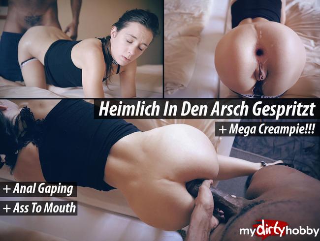 Video Thumbnail Heimlich In Den Arsch Gespritzt