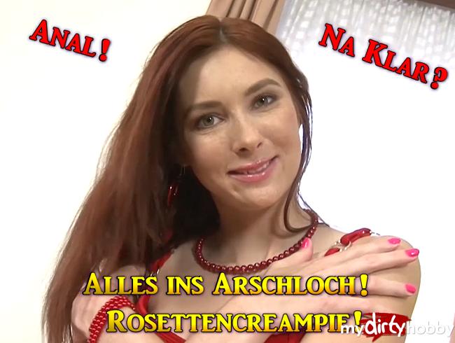 Video Thumbnail Alles ins Arschloch! Rosettencreampie!