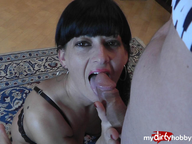Video Thumbnail Mein 1. Blowjob! POV