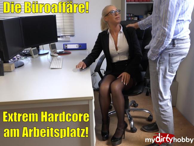 Daynia - Die Büroaffäre | Extremer Hardcore Sex am Arbeitsplatz!