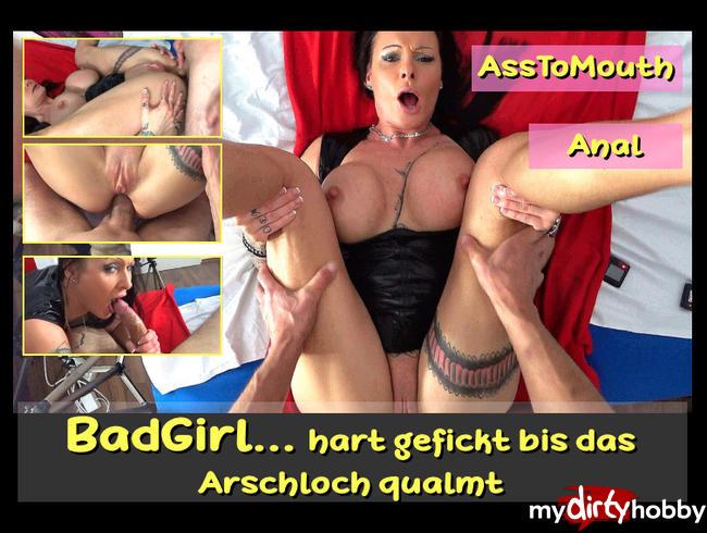 Video Thumbnail BADGIRL..hart gefickt bis das Arschloch qualmt.....Anal, AO, ATM