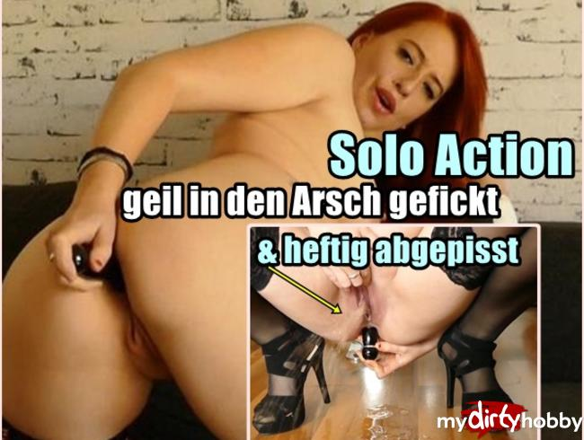Video Thumbnail Geile Anal Solo Action !