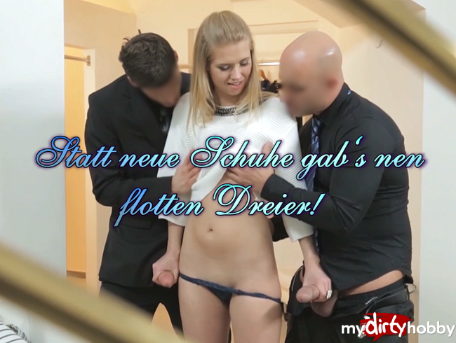 Video Thumbnail Statt neue Schuhe gab's nen flotten Dreier!