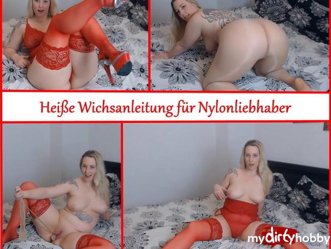 Video Thumbnail Heiße Wichsanleitung für Nylonliebhaber