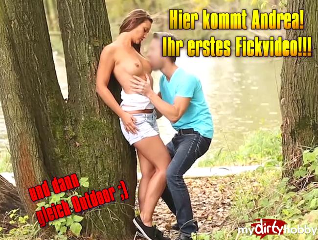 Video Thumbnail Hier kommt Andrea! erstes Fickvideo!!!