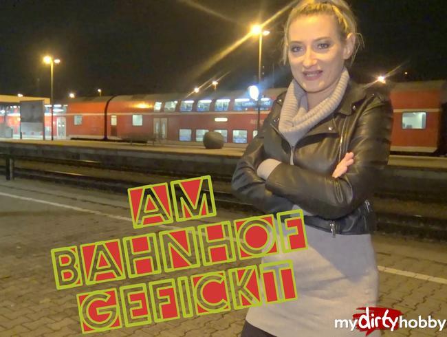 Video Thumbnail Zug verpasst !! Ficken oder Warten ????