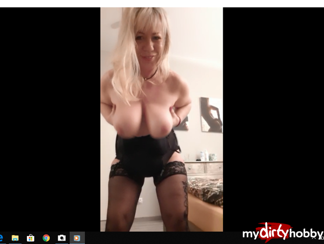 sexy4961 - SEXY LADY MIT BIG TITTS IN BLACK