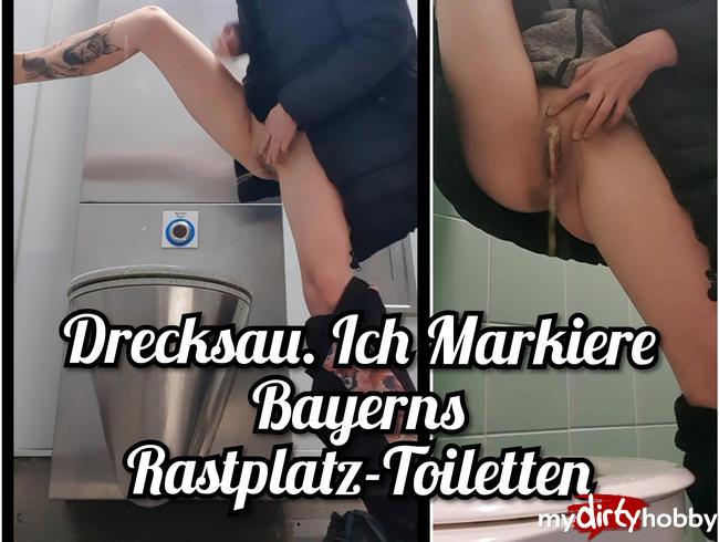 Sunny-Sin - Drecksau. Ich Markiere Bayerns Rastplatz-Toiletten