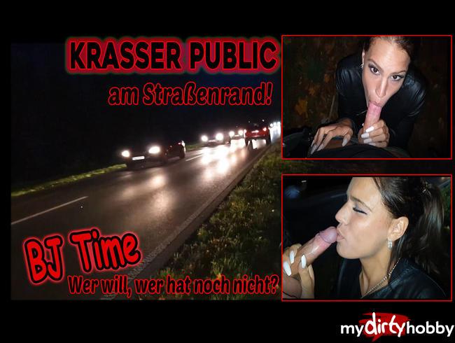 Video Thumbnail KRASSER PUPLIC am Strassenrand!  BJ Time, Wer will  wer hat noch nicht ? :P