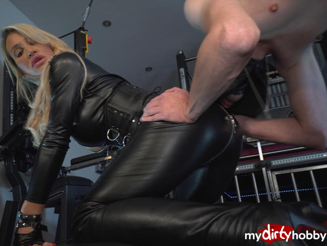 Video Thumbnail Obedience Leather Worship