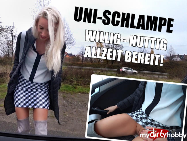 Video Thumbnail UNI-SCHLAMPE! In Fickstiefeln AO durchgenagelt!!