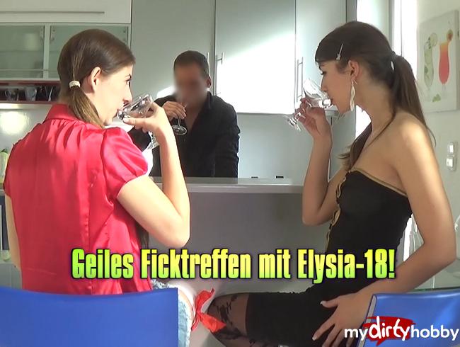 Video Thumbnail Geiles Ficktreffen mit Elysia-18!