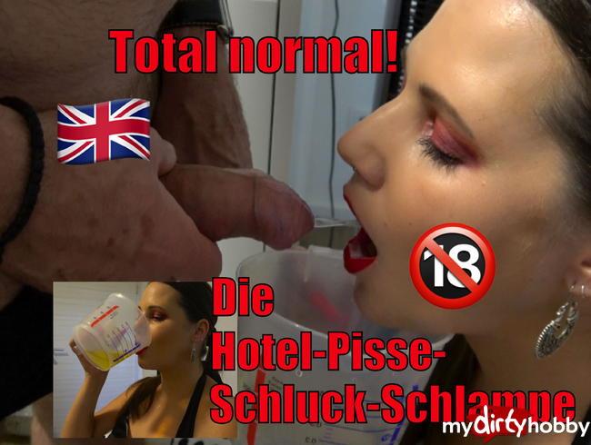 Video Thumbnail Total normal - Die Hotel-Pisse-Schluck-Schlampe