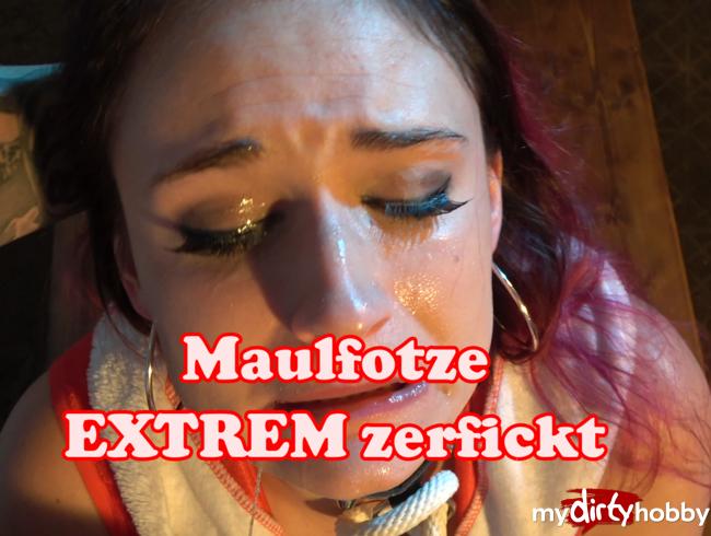 Video Thumbnail EXTREM Deepthroat Weihnachtselfe hart in die Fresse gefickt