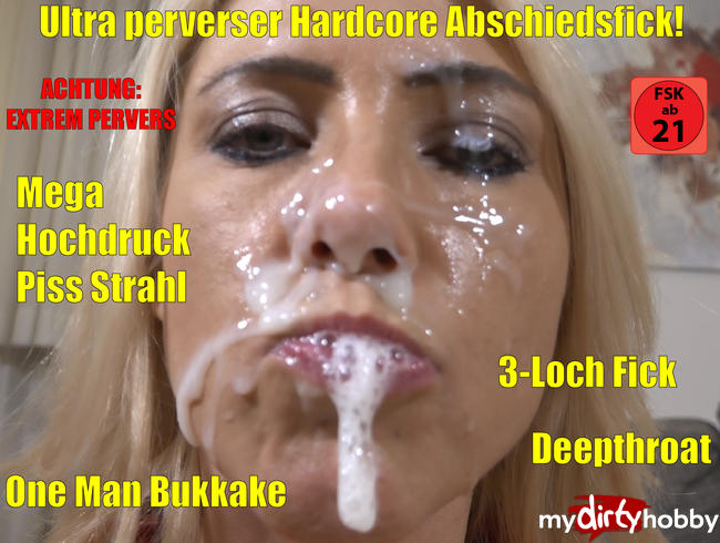 Video Thumbnail Der ultraperverse Hardcore Abschiedsfick | Hammergeiles Sperma-Piss-Inferno nach 3Loch-Fick!