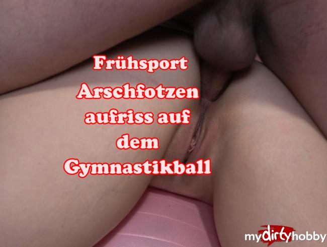 Video Thumbnail Arschfotzen aufriss auf dem Gymnastikball