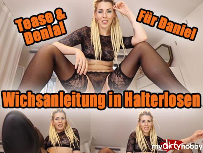 Video Thumbnail WICHSANLEITUNG in Halterlosen für Daniel
