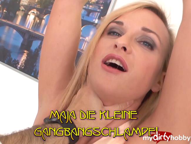 Video Thumbnail Maja die Kleine Gangbangschlampe!