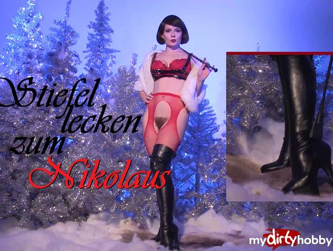 Video Thumbnail Stiefel lecken zum Nikolaus