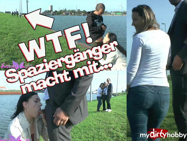 Video Thumbnail WTF! Spaziergänger macht einfach mit...
