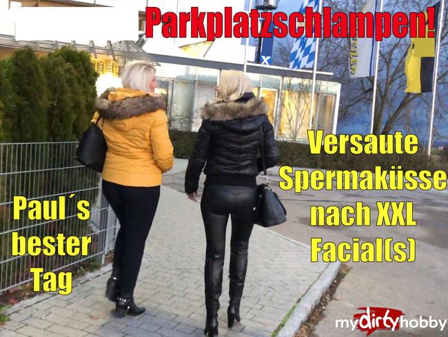 Video Thumbnail Verhurte Parkplatzschlampen | Versaute Spermaküsse nach XXL Facial(s)! FFM