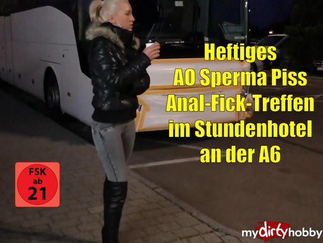 Video Thumbnail Heftiges AO Sperma-Piss Anal-Ficktreffen im Stundenhotel an der A6! XXXL Saftexplosionen