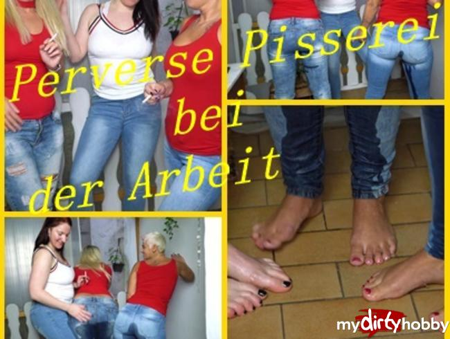"Video Thumbnail 3 Girls"" Die Perverse Pisserei beim Smoking"""