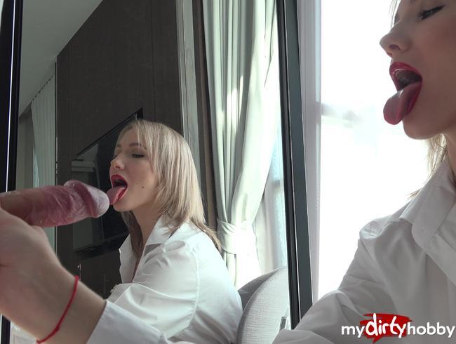 Video Thumbnail 551 Machen Sie größere CumShoot in New Angels Pumps