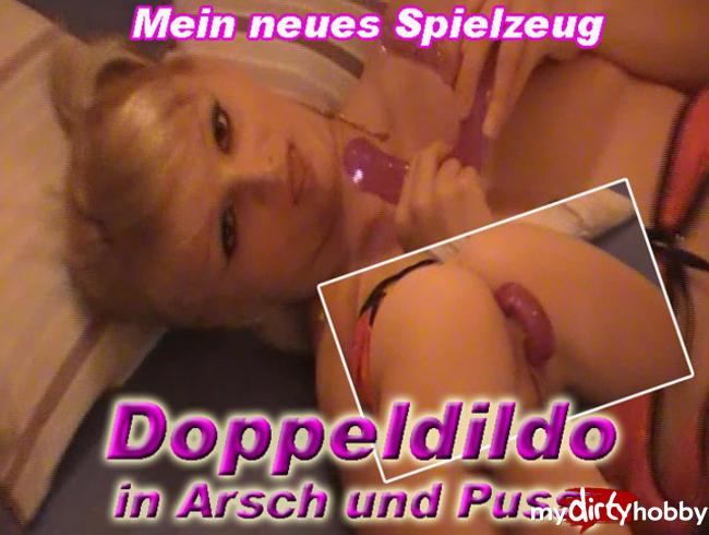 Video Thumbnail Doppeldildo in Arsch und Pussy