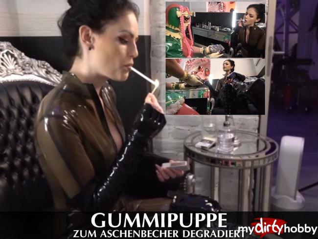 Video Thumbnail Gummipuppe zum Aschenbecher degradiert