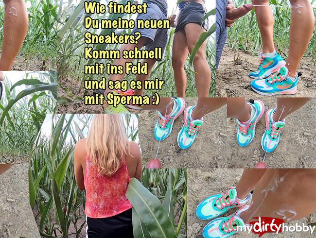 Video Thumbnail Spritz alles was Du hast auf meine neuen Sneakers