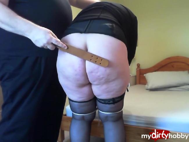 Video Thumbnail Devote Sau! – Erst Spanking dann dem Meister einen geblasen!!!
