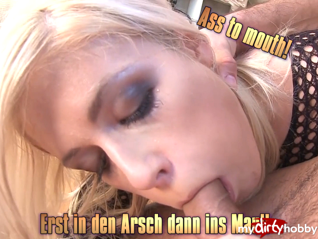 Video Thumbnail Ass to mouth! Erst in den Arsch dann ins Maul!