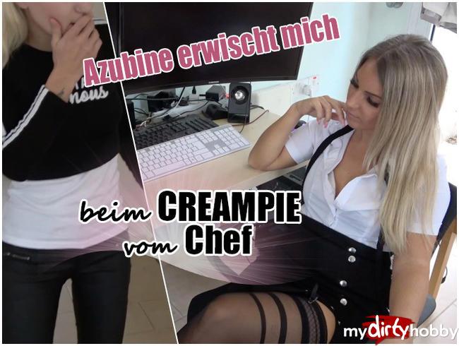 Video Thumbnail Azubine erwischt mich beim CREAMPIE vom Chef