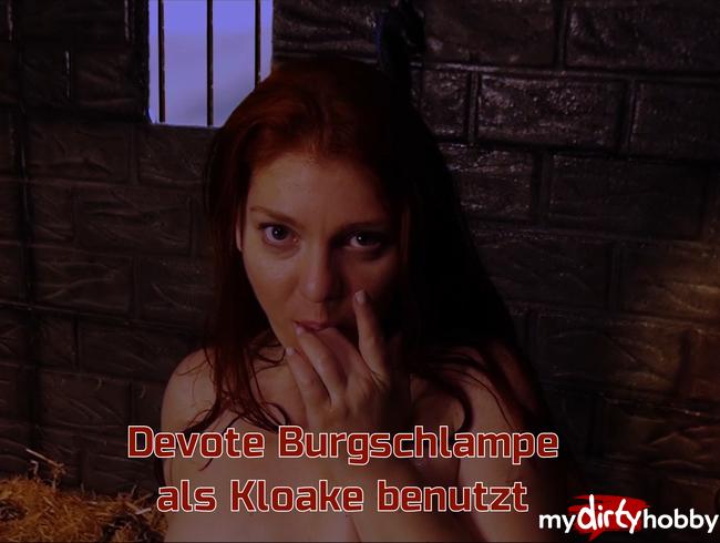Video Thumbnail Devote Burgschlampe als Kloake benutzt