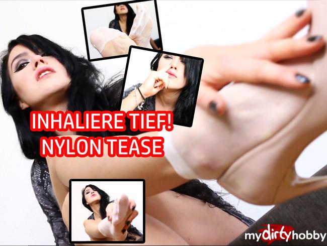 Video Thumbnail INHALIERE TIEF - Nylon Manipulation *fetisch/Rollenspiel*