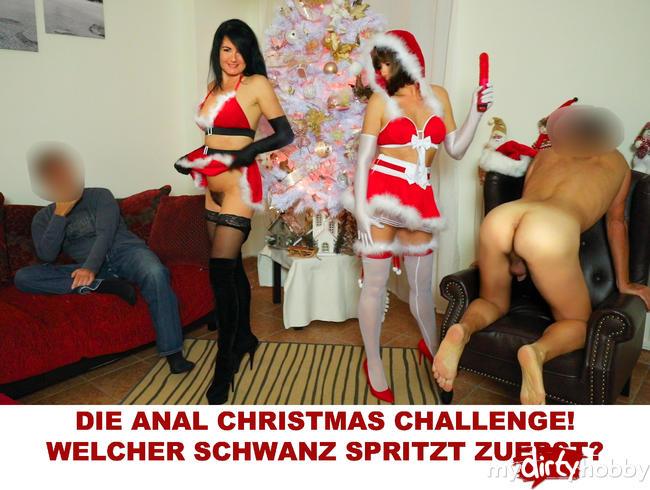 Video Thumbnail DIE ANAL CHRISTMAS CHALLENGE! Welcher Schwanz spritzt zuerst?