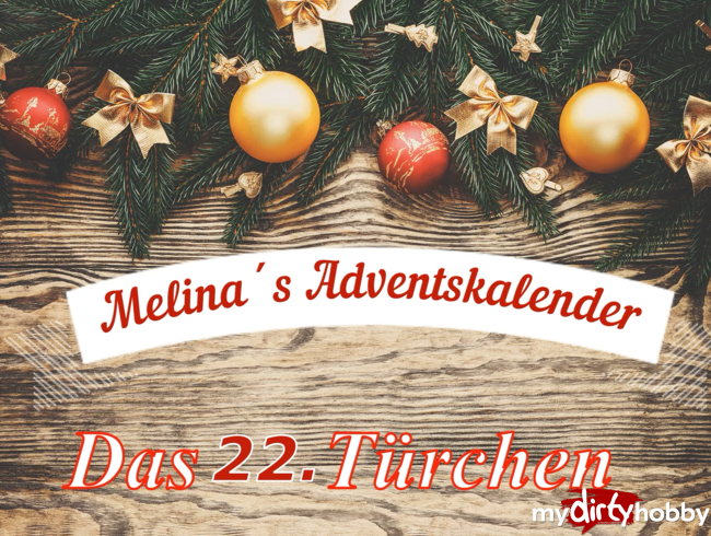 Melina-May - Adventskalender Türchen NR. 22