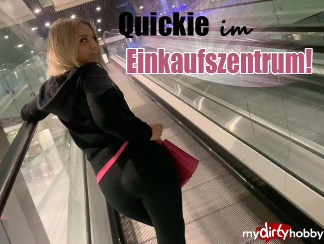 Video Thumbnail Quickie im Einkaufszentrum!!