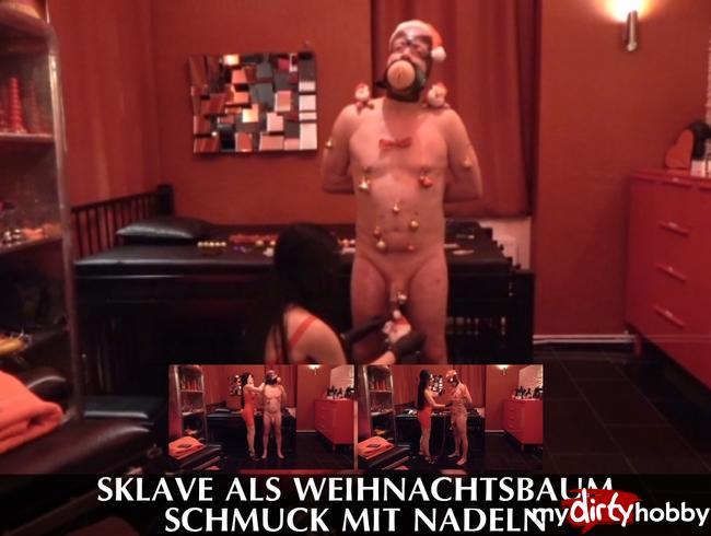 Video Thumbnail Sklave als Weihnachtsbaum – Schmuck mit Nadeln