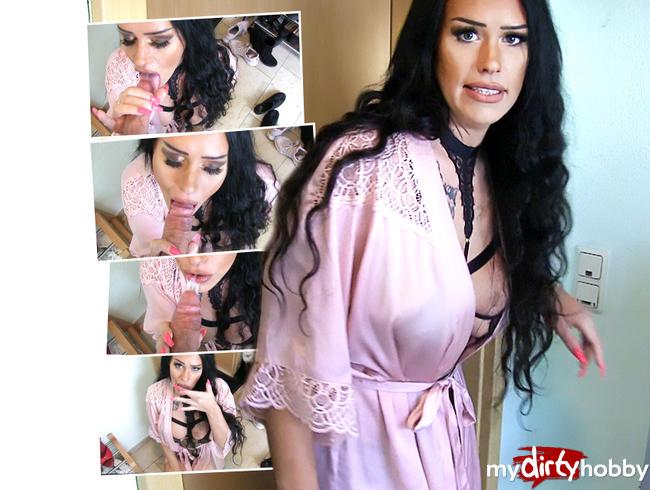Video Thumbnail Latina Ehestute mit XXL-SPERMALADUNG im Hausflur vollgepumpt !!