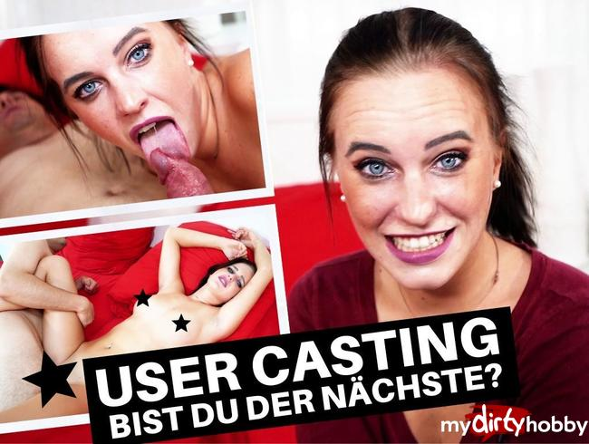 Video Thumbnail USER-CASTING – BIST DU DER NÄCHSTE?