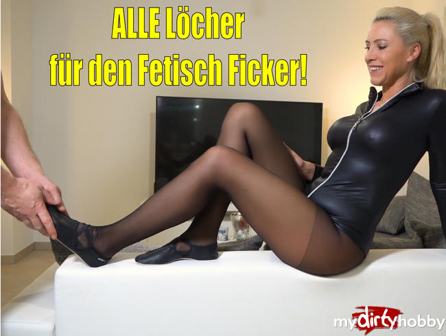 Video Thumbnail Alle Ficklöcher für den Fetisch Ficker | Großschwanz bohrt Arschfotze auf!