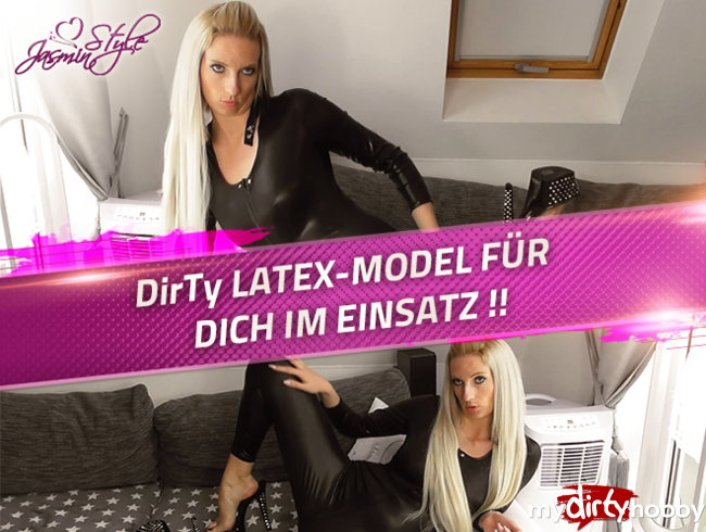 Video Thumbnail DirTy LATEX-MODEL FÜR DICH IM EINSATZ !!